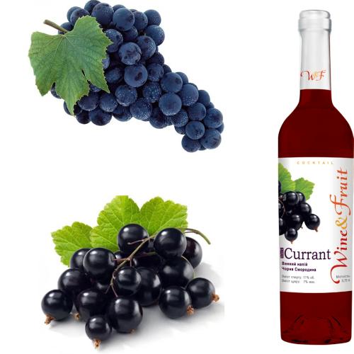 Wine&Fruit Черная смородина